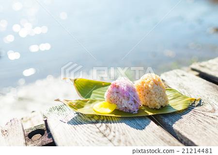 Rice ball rice ball to eat rice ball outdoor 21214481