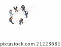 miniature businessmen 21228681