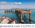 ท้องฟ้า,ท่าเรือ,สีน้ำเงิน 21229112