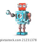 機器人 復古 立體 21231378