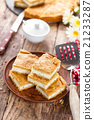 rustic salted cheesecake with cottage cheese 21233287