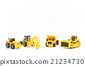 miniature, construction industry, power shovel 21234730
