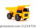 dump truck, miniature, track 21234734