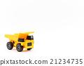 dump truck, miniature, construction machinery 21234735