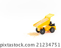 dump truck, miniature, luggage 21234751
