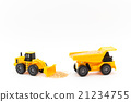 dump truck, shovel loader, miniature 21234755
