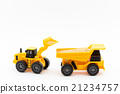 dump truck, shovel loader, miniature 21234757