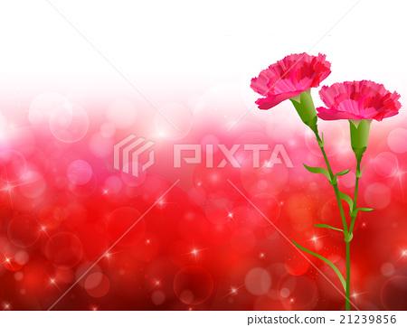 母親節康乃馨花背景 21239856
