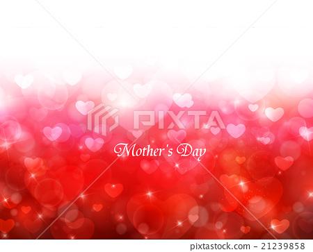 母親節心臟光背景 21239858