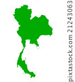 Map of Thailand 21243063
