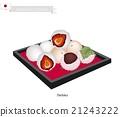 Daifuku and Mochi, A Popular Dessert in Japan 21243222