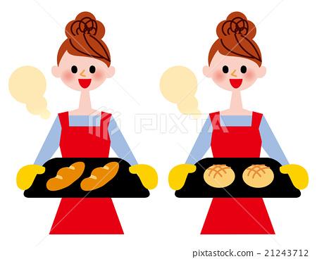 여성, 여자, 웃는 얼굴 21243712