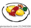 大米煎蛋 蛋包飯 溫暖 21246308