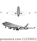 airplane aircraft airliner 21250052