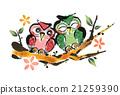 owl, japan, pen touch pen 21259390