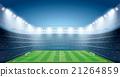 Soccer Stadium with spot lights. 21264859