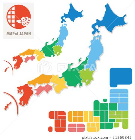 日本地圖 21269843