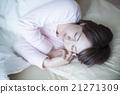 ผู้หญิงนอนหลับ 21271309