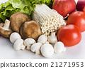蔬菜 青菜 蘑菇 21271953