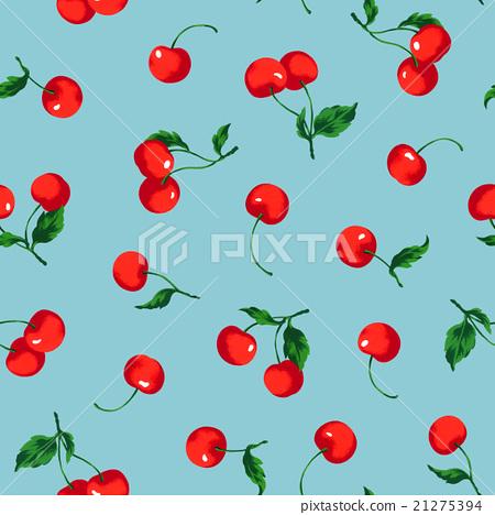 Cherries pattern 21275394