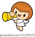 Loudspeaker Announcements Angel Character. 21276473