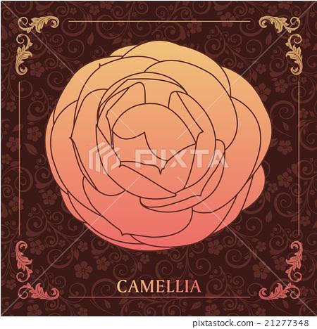 Camellia decoration 21277348