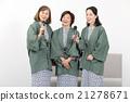 高级女子协会浴衣出场 21278671