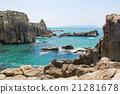 Landscape of Tojinbo Cliff, Mikuni cho, Sakai 21281678