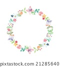 garland, wreath, circle 21285640