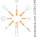 Kitchen Tools Cutlery Circle Sun 21291149