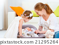 mother, family, baby 21295264
