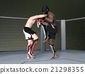 格鬥運動 自由搏擊 拳擊手 21298355