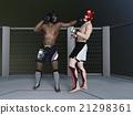 格鬥運動 自由搏擊 拳擊手 21298361