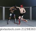 格鬥運動 自由搏擊 拳擊手 21298363