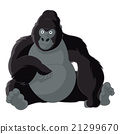 cartoon, vector, monkey 21299670