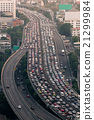 Traffic jam on express way Bangkok, Thailand 21299984