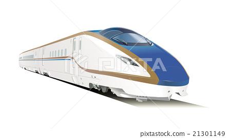 E7 series Shinkansen illustration 21301149