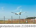 후쿠오카 공항, 비행기, 활주로 21304449