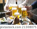 생맥주, 건배, 맥주 21308075