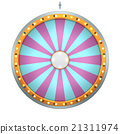 wheel fortune 24 area pink color 21311974