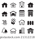 Home icons set 21312218