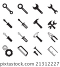 Construction tool icons 21312227
