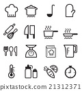 Cooking icons set 21312371