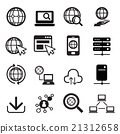 Internet icon set 21312658