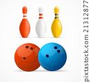 bowling, pin, vector 21312877