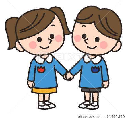 儿童幼儿园牵手 21313890