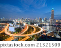 Bangkok Downtown City Skyline 21321509
