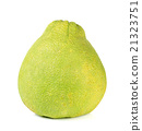 pomelo fruit isolated on the white background 21323751