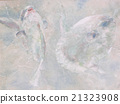 翻车鱼 两只动物 游泳 21323908