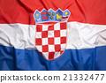 Flag of Croatia 21332477
